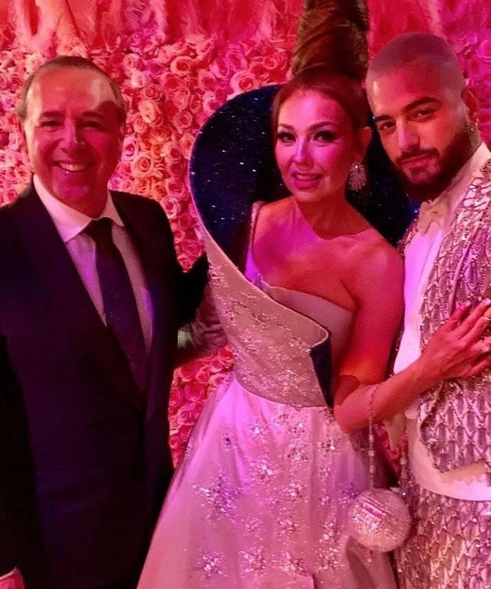 Thalía, Tommy y Maluma