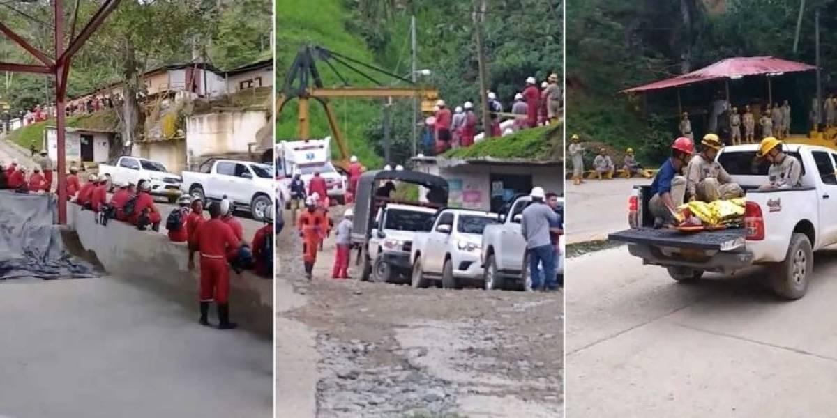 Accidente en una mina deja 21 personas heridas, cuatro de ellas de gravedad