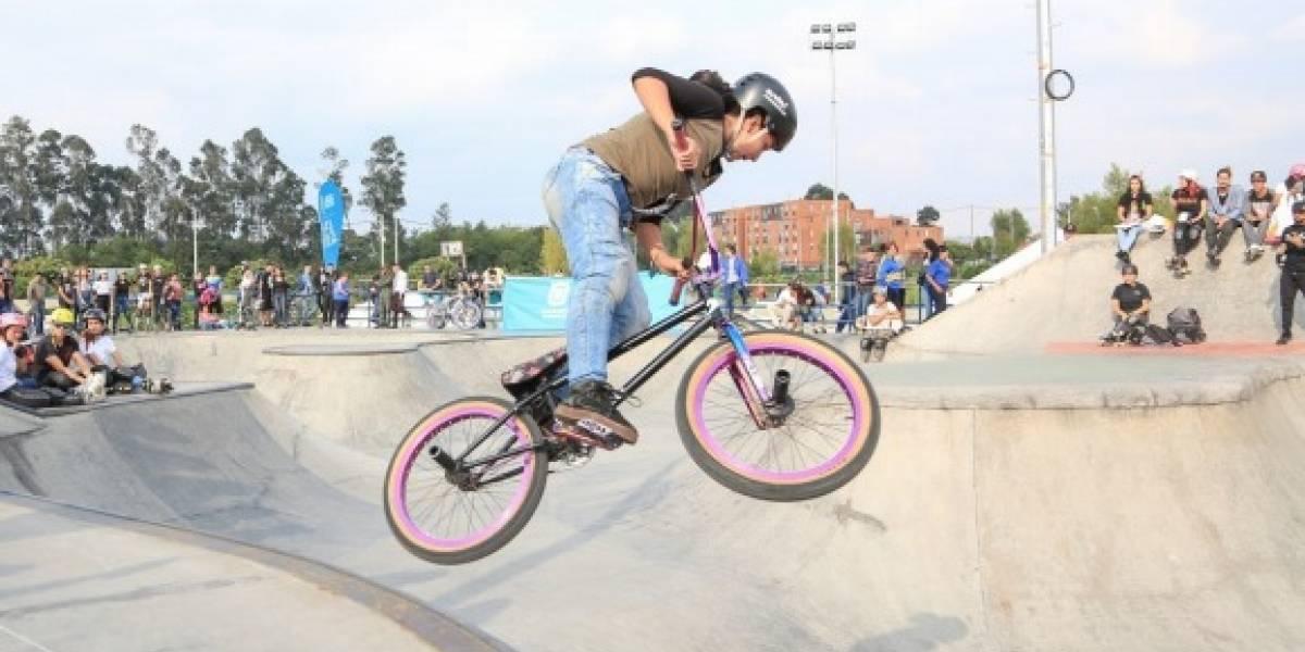 Prográmese para la gran fiesta deportiva en el Skatepark del parque Gilma Jiménez