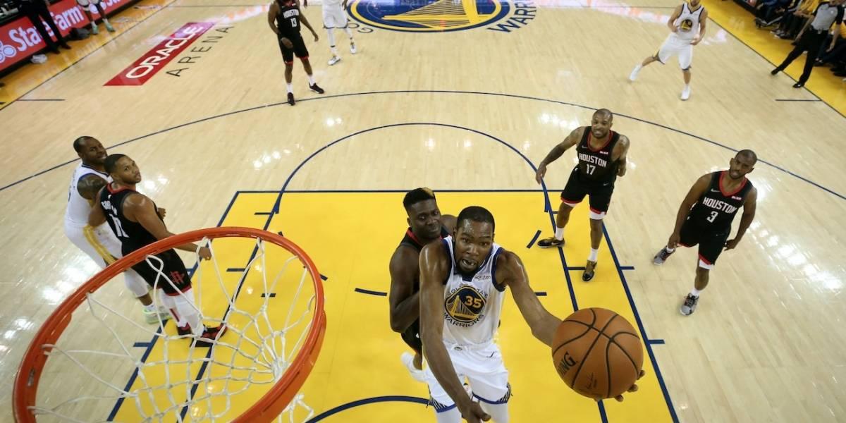 NBA: Warriors toma ventaja sobre Rockets y los Milwaukee Bucks avanzan a la final del Este