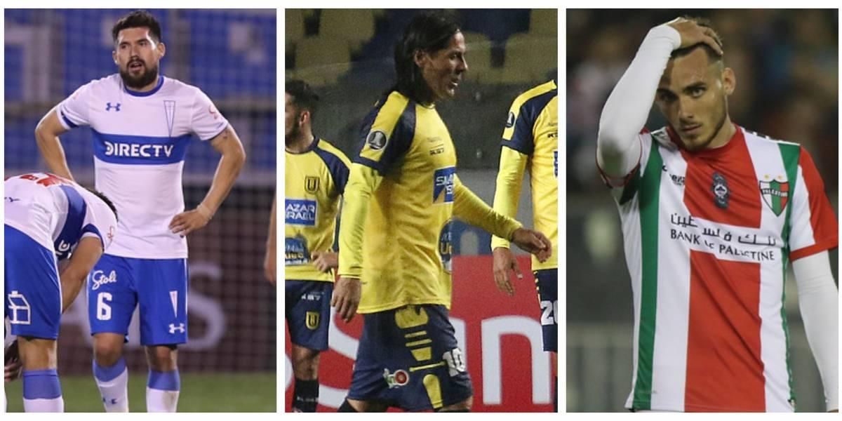 Ya es costumbre: Chile quedó fuera de los octavos de la Libertadores por quinta vez en siete años