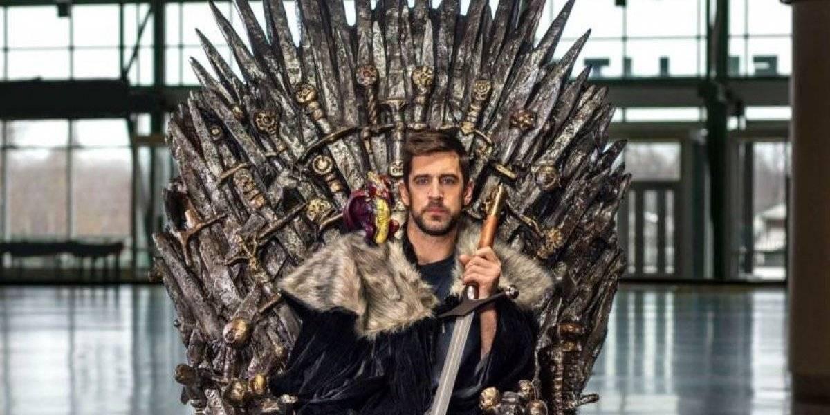 Aaron Rodgers aparecerá en el próximo capítulo de Game of Thrones