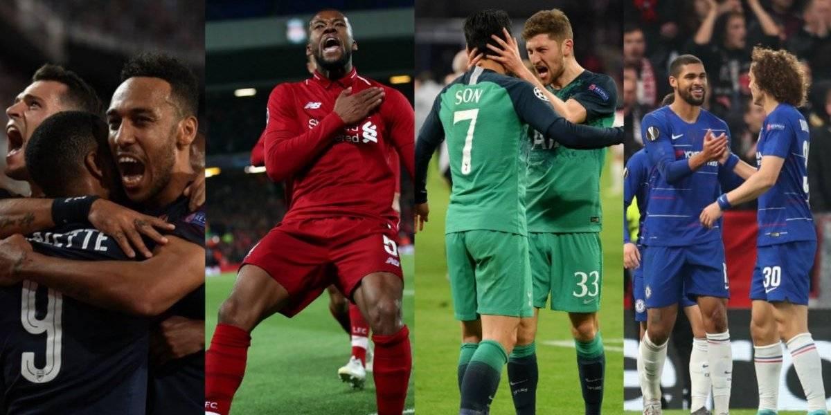 Por primera vez en la historia, Champions y Europa League coinciden en finales inglesas