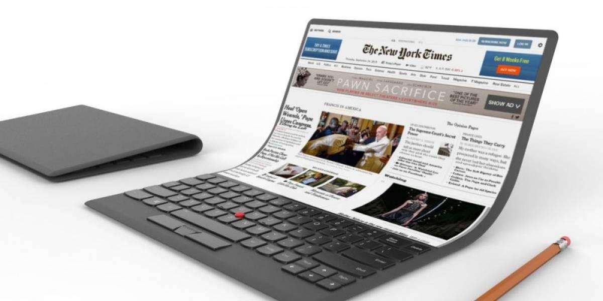 Futurología: las laptops con pantalla plegable llegarán en dos años