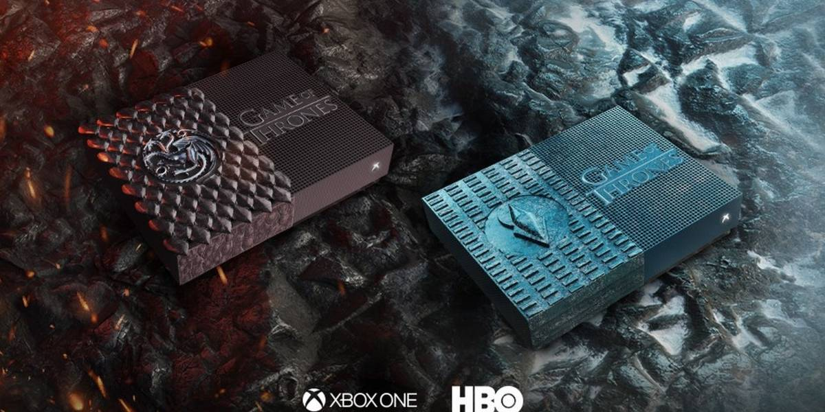 Microsoft y HBO están regalando dos consolas Xbox One con diseño de Game of Thrones