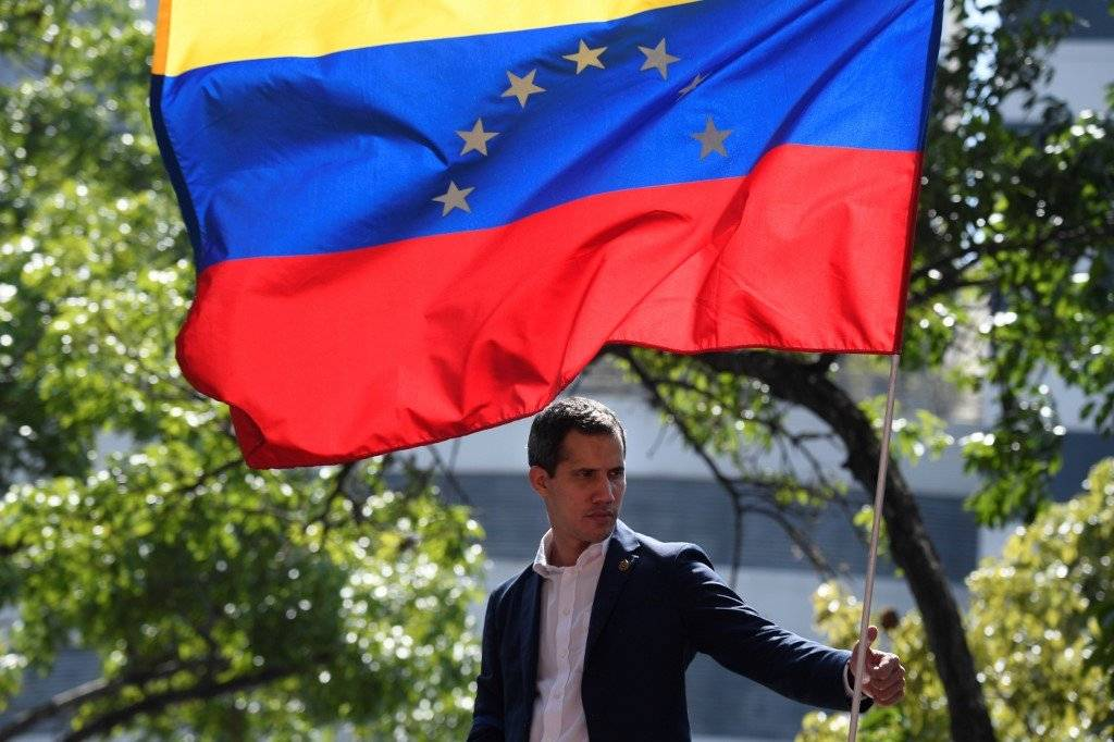 Juan Guaidó en Venezuela