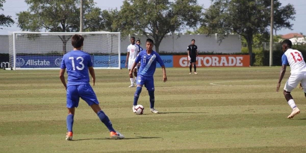 Una nueva desilusión para la selección Sub 17 de Guatemala