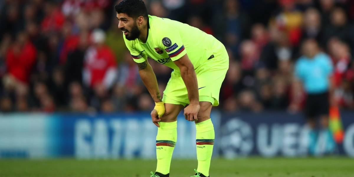 Luis Suárez será operado y se pierde lo que queda de la temporada