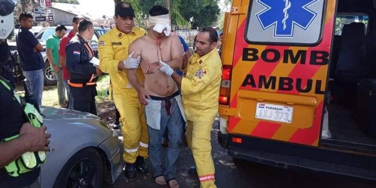 Homem sofre surto psicótico e arranca olho direito com as próprias mãos; olho esquerdo explode
