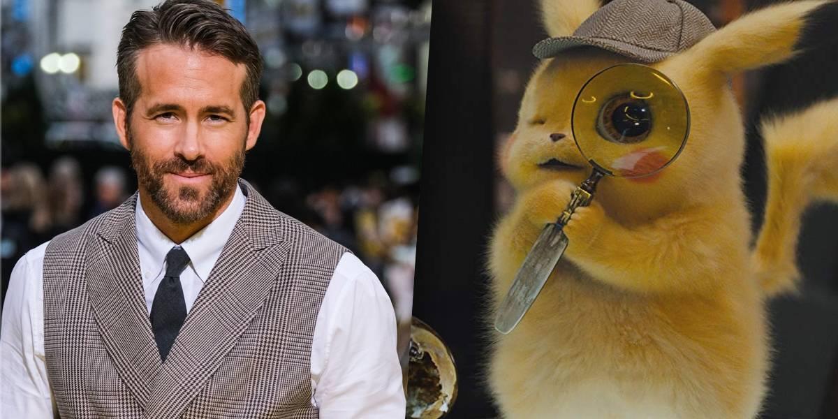 'Pokémon é como Star Wars', diz Ryan Reynolds; ator conta como foi preparação para dublar Pikachu