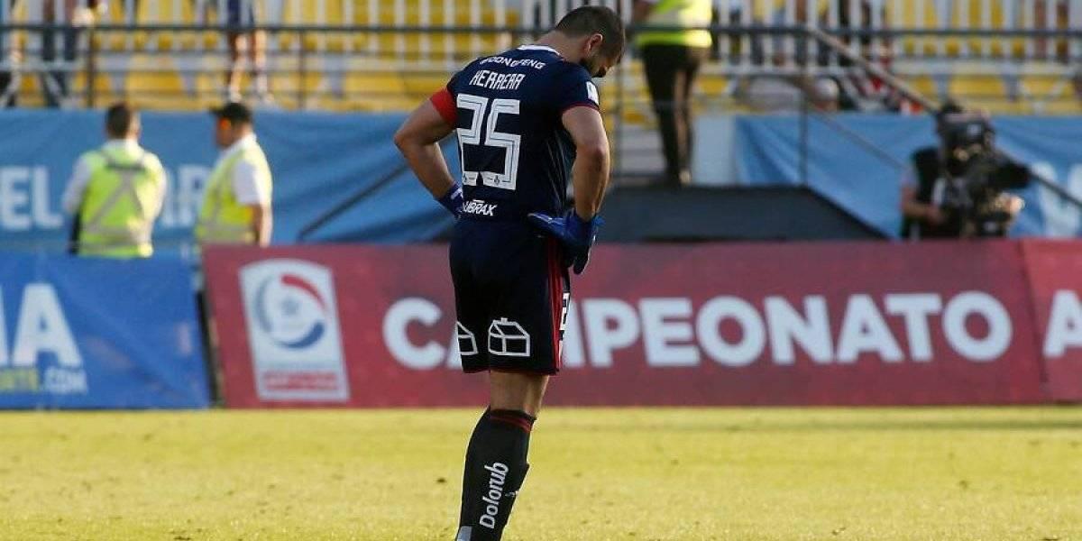 """Herrera asume su mal momento que lo tiene afuera de la U: """"Desde donde me toque quiero apoyar a mi equipo"""""""