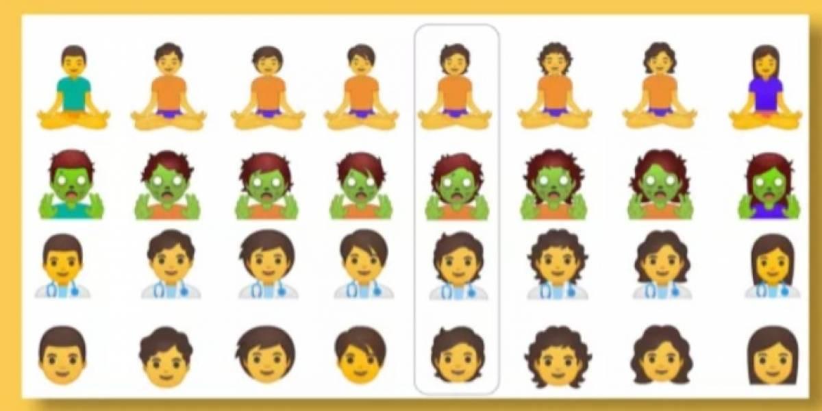 Android Q prepara una batería de 53 emojis de género neutro