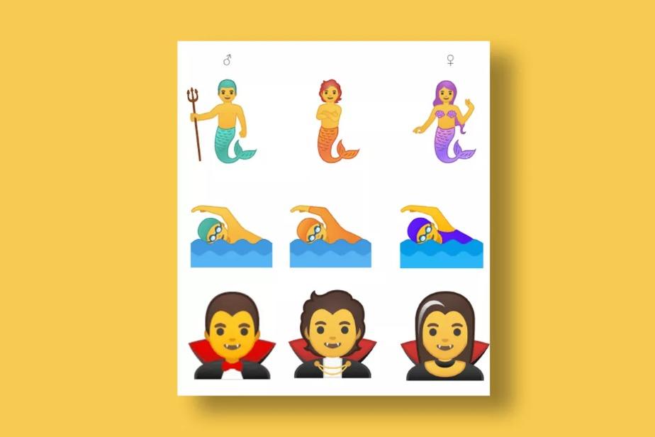 Android Q emojis