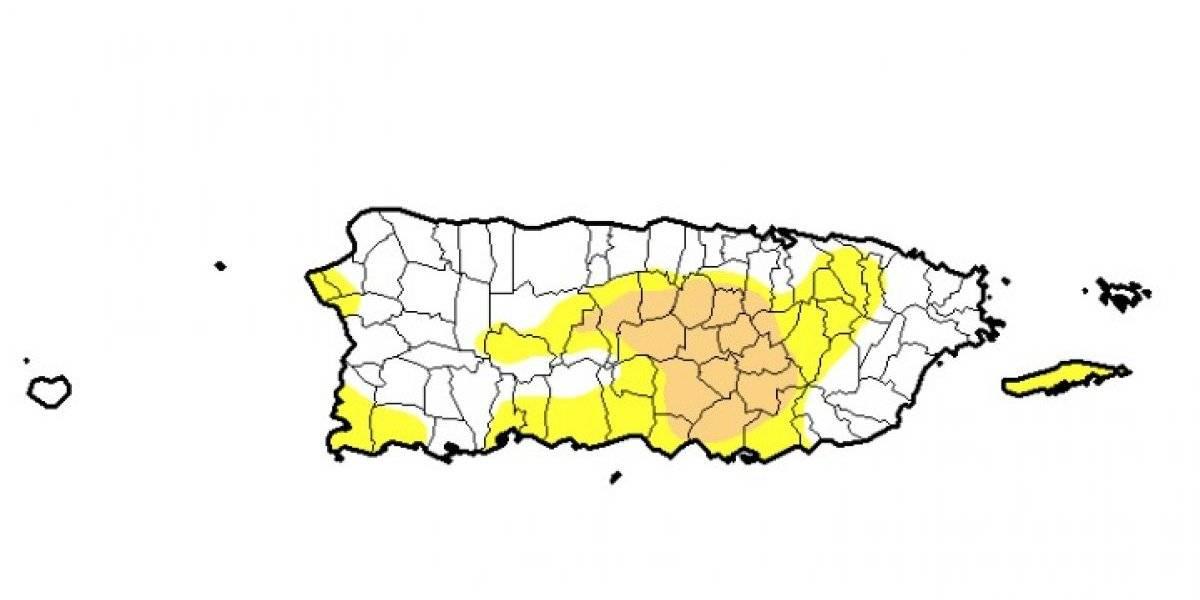 Se mantiene la sequía moderada en pueblos del centro