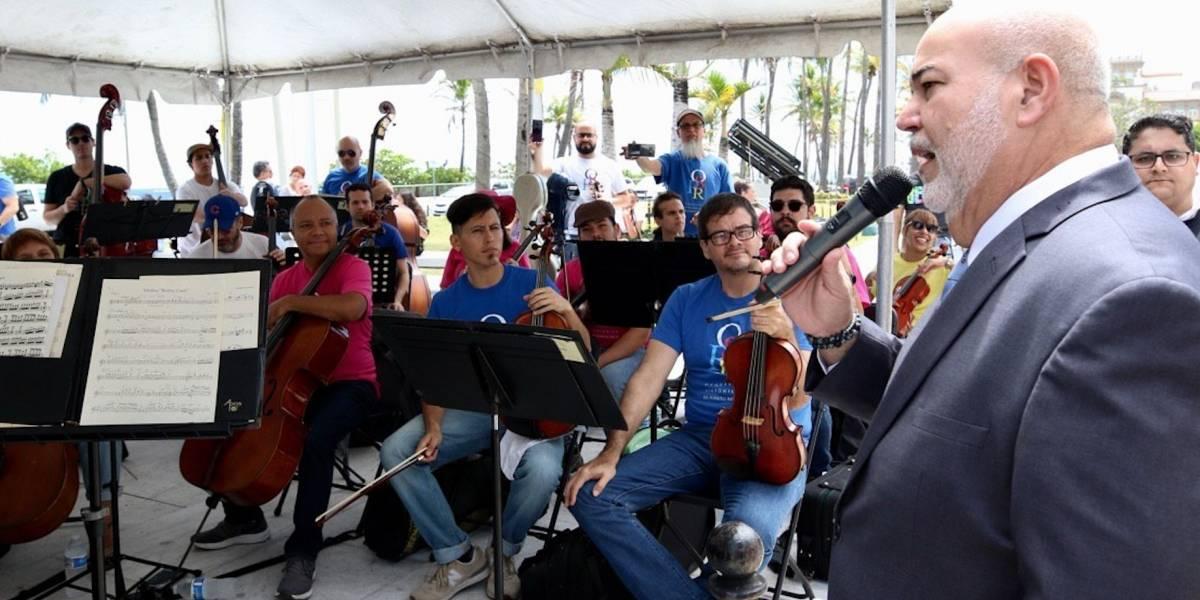 'Johnny' Méndez se compromete a mantener intacto presupuesto de Orquesta Sinfónica