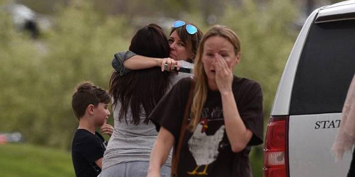 Los mensajes de un estudiante durante el tiroteo en Colorado