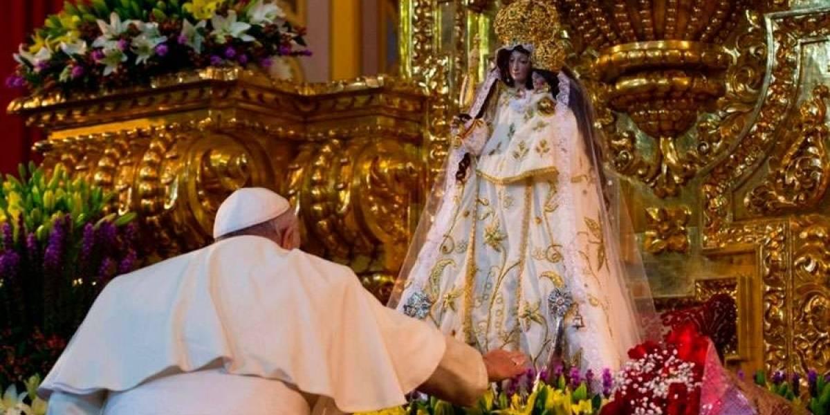 Imagen de la Virgen de El Quinche tendrá un lugar en el Vaticano