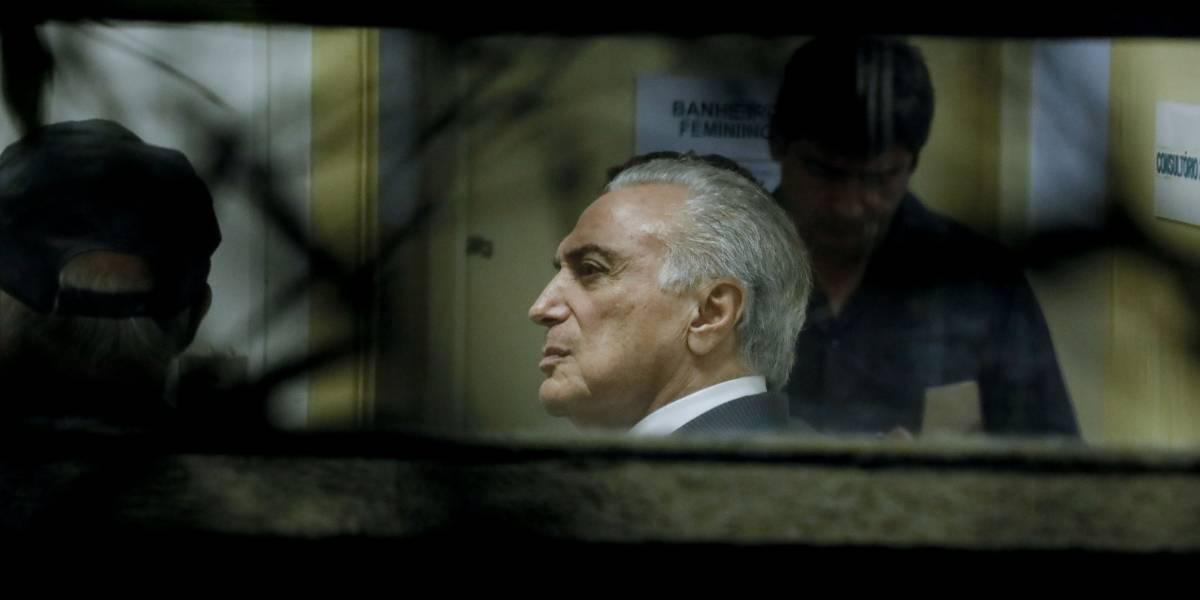 Michel Temer passa primeira noite de volta à prisão em sala longe da carceragem