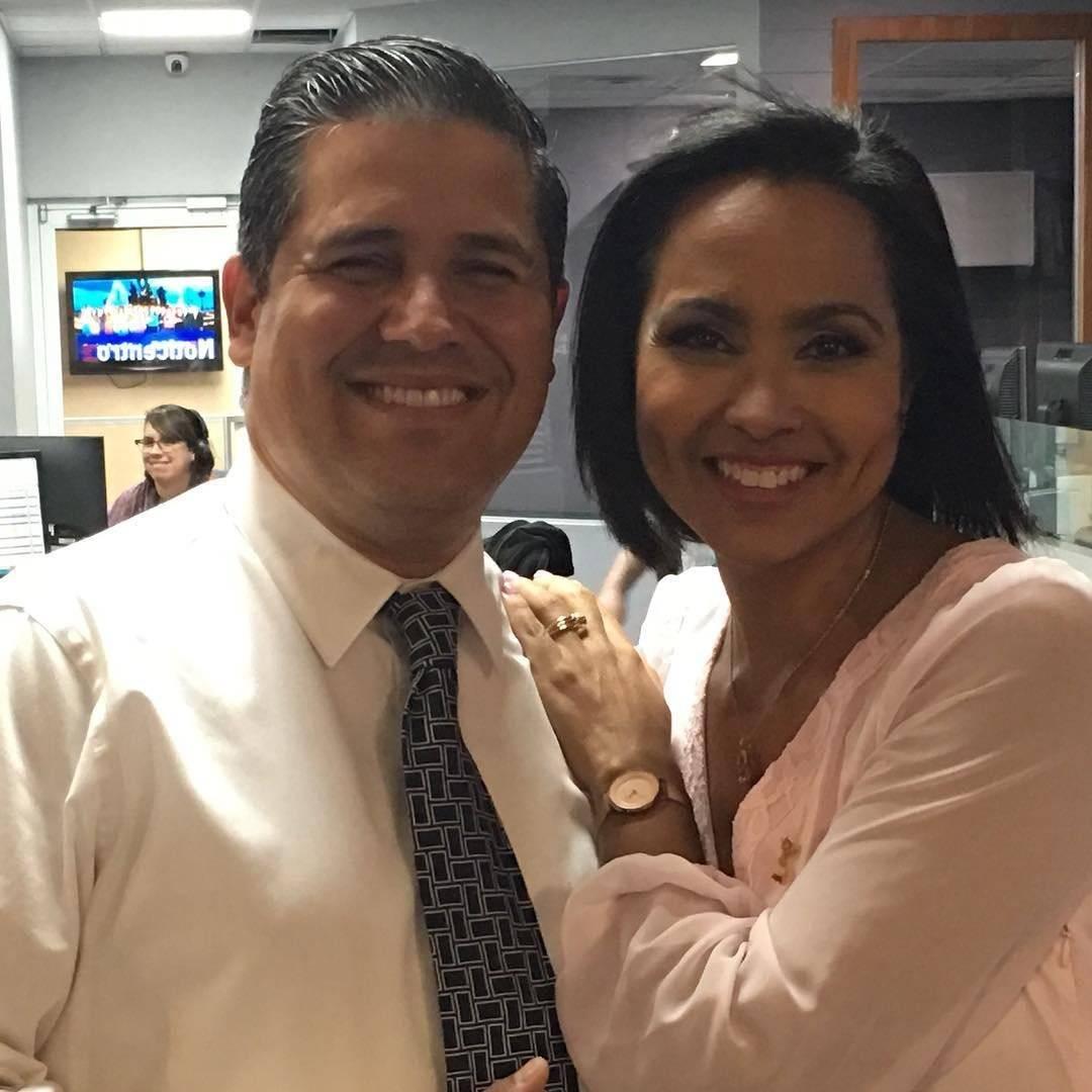 Normando Valentín y Keylla Hernández