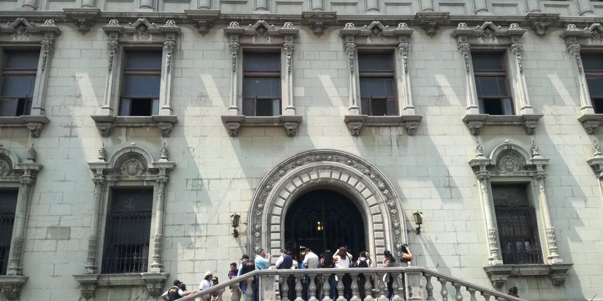 Fiscal contra Corrupción explica resultados de allanamiento en el Palacio Nacional