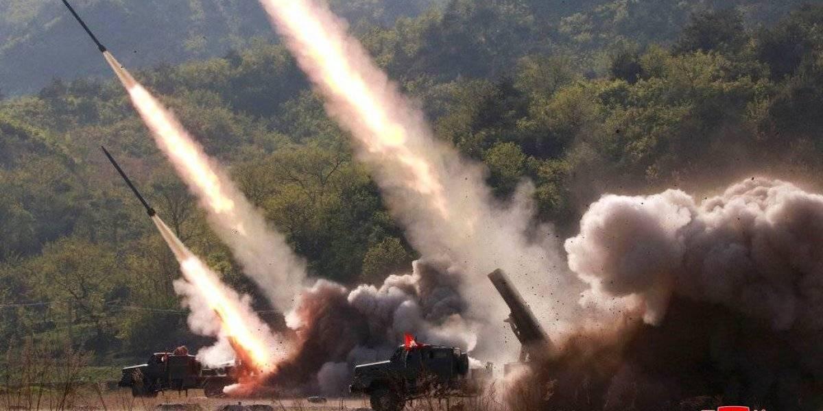 Norcorea probó misiles en sus últimos lanzamientos, dice Seúl