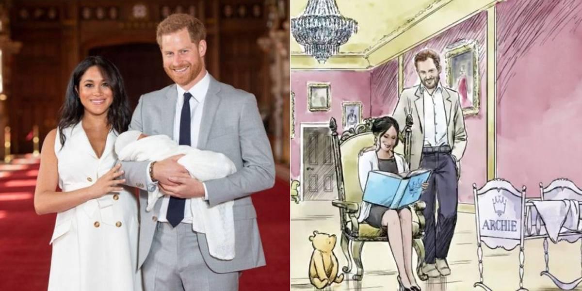 Disney homenageia filho do príncipe Harry e Meghan Markle em animação; assista