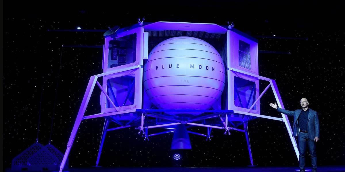 CEO da Amazon enviará nave espacial para a Lua