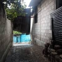 Daños por lluvias en Guastatoya