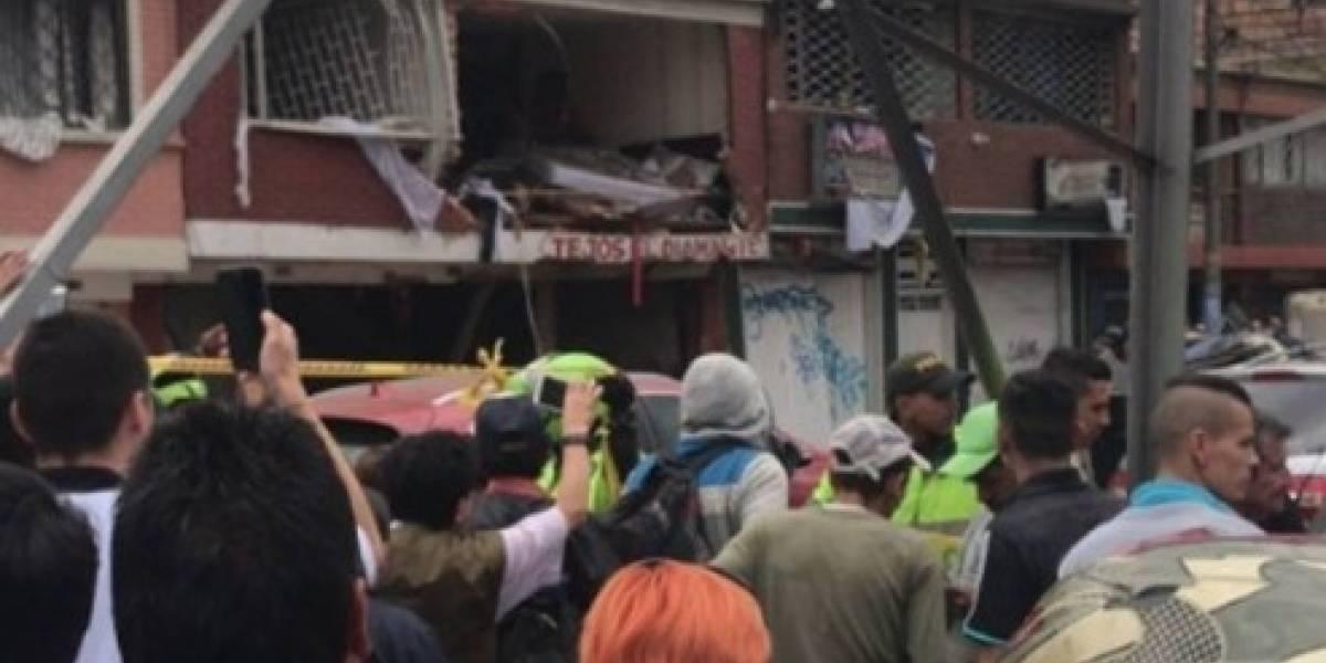 La posible razón por la que casa explotó en Bogotá