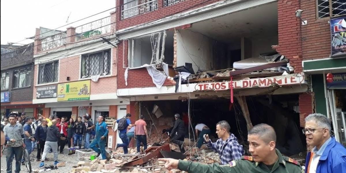 Balance de muertos y heridos tras explosión en Bogotá