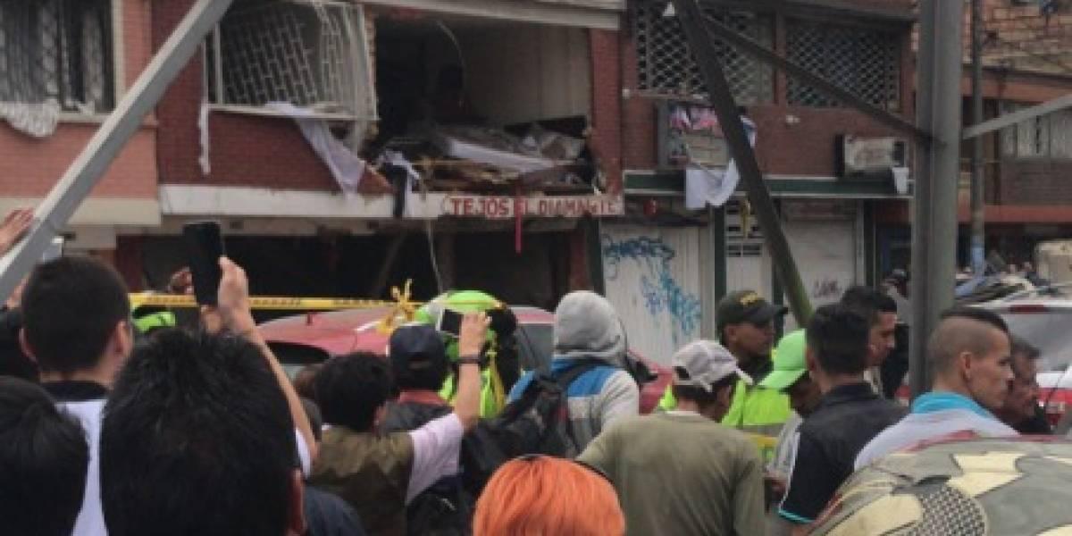 ¡Atención! Una casa explotó hace minutos en la Avenida Rojas