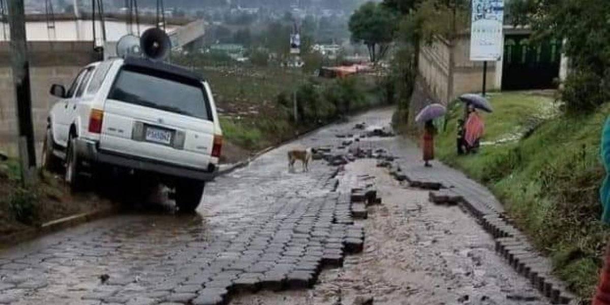 Cuatro departamentos son los más afectados por la llegada de las lluvias