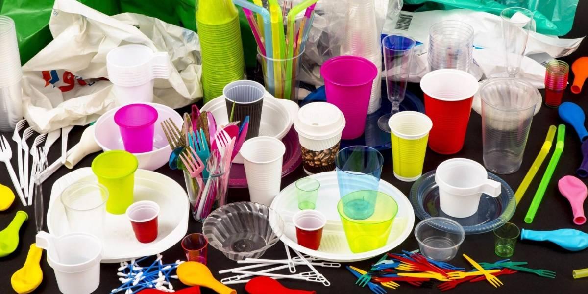 En Ciudad de México se prohibirán los productos de plástico de un solo uso