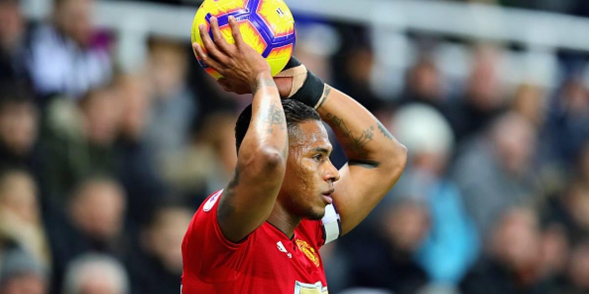 Así recordó el Manchester United al ecuatoriano Antonio Valencia