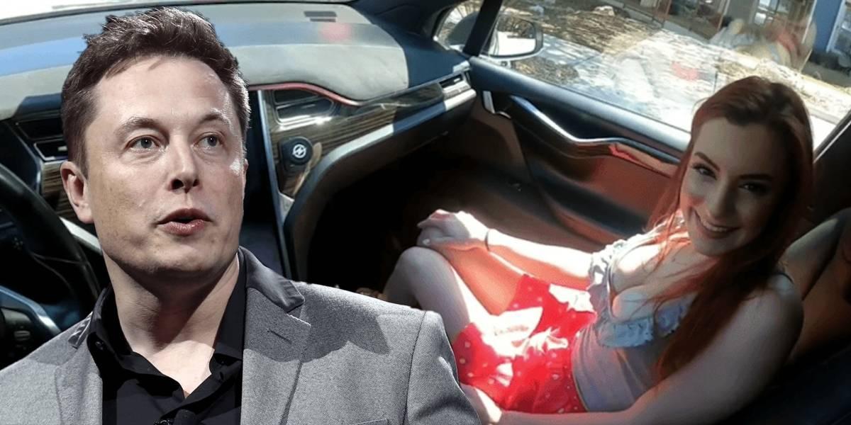 Elon Musk reacciona al video porno del Tesla con piloto automático
