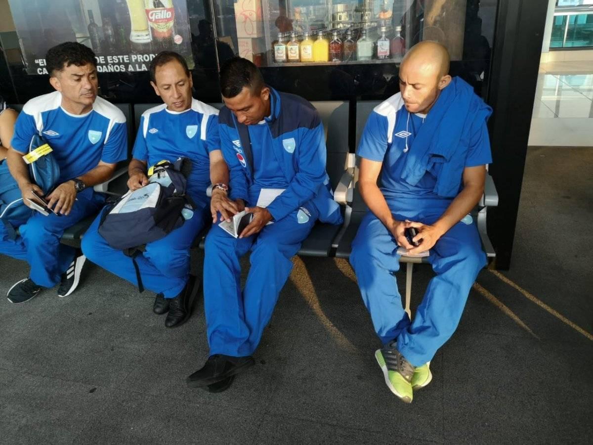 ACD | Los chapines durante su viaje hacia México, sede del premundial.