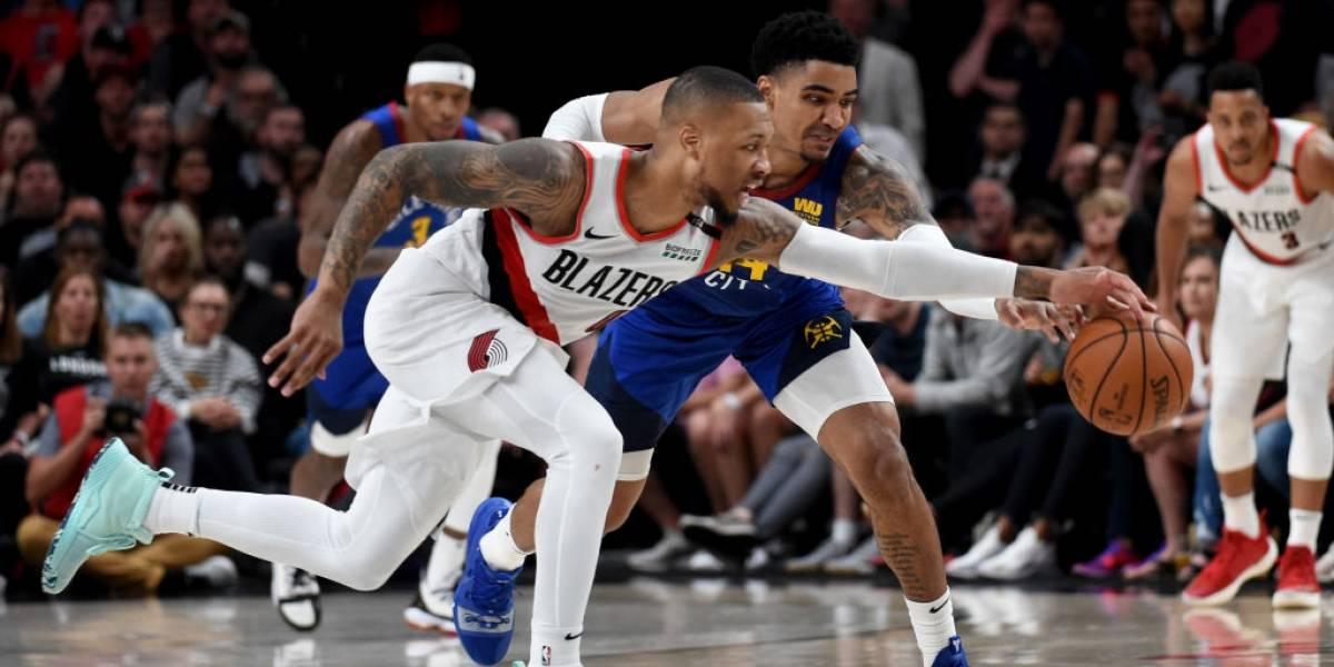 NBA Philadelphia Toronto y Portland Denver definirán a los finalistas de conferencia en el séptimo partido