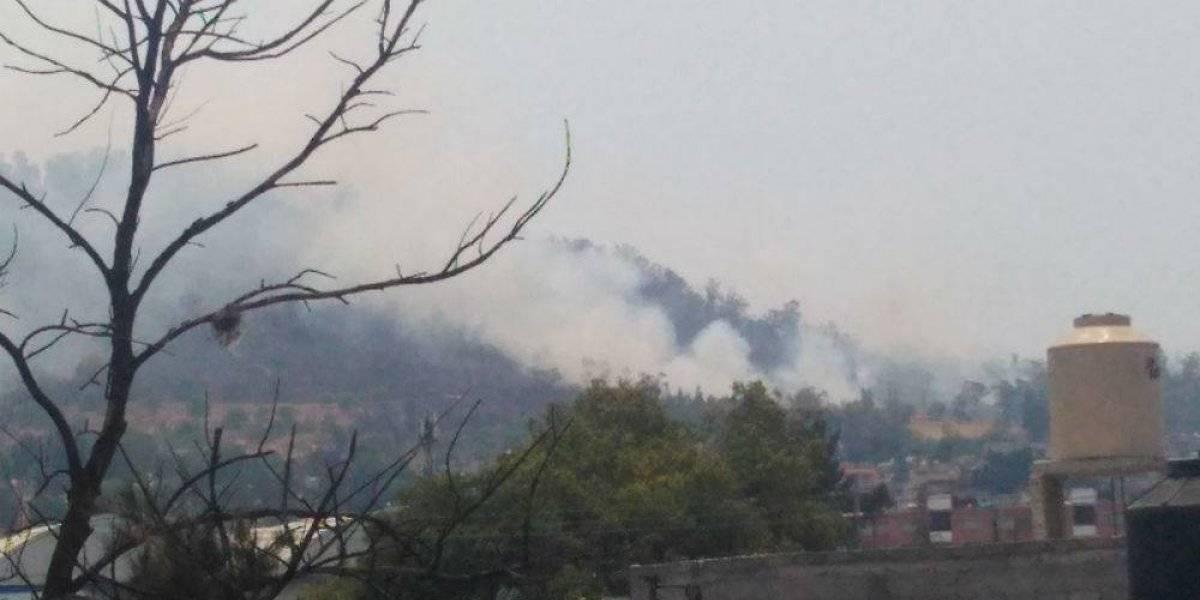Se registra otro incendio, ahora en el Cerro de la Estrella