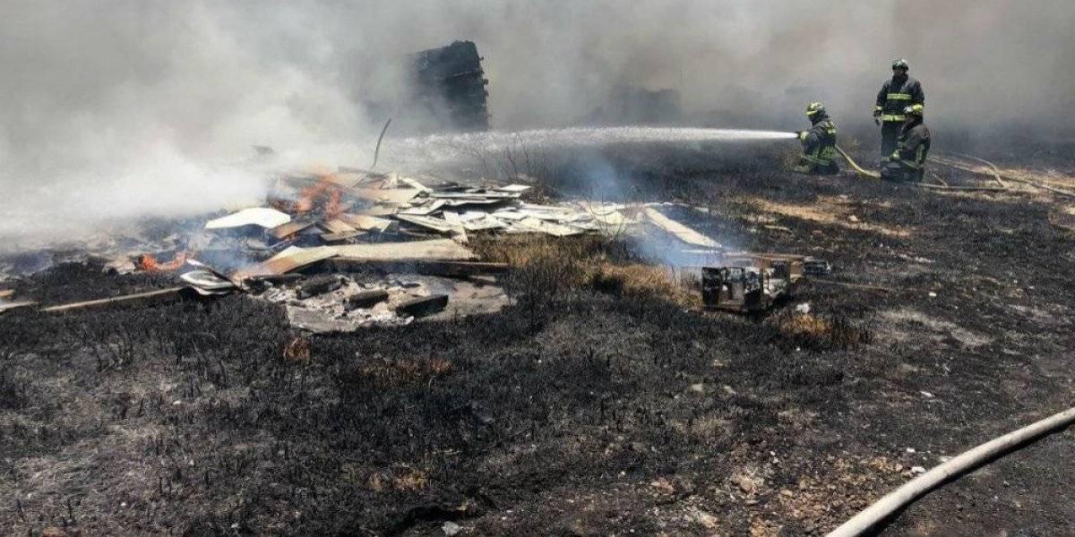 Se percibe olor a quemado en gran parte de la CDMX