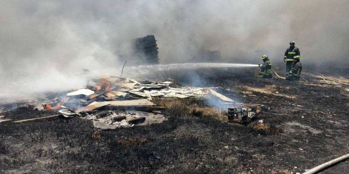 Controlan incendio en la zona de Santa Fe