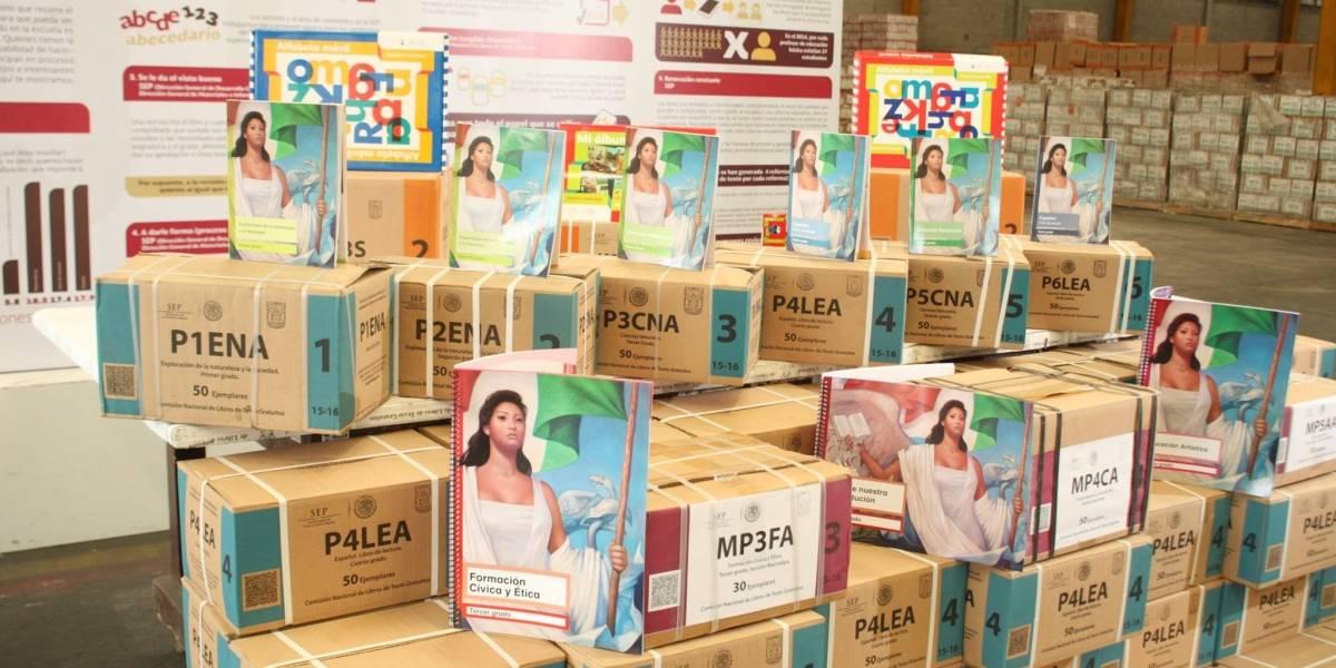 México: La SEP se ve obligada a frenar la impresión de 40 millones de libros de texto gratuito