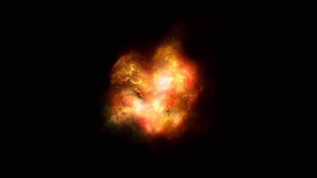 Impresionante: Así se podría haber visto una de las primeras galaxias del universo