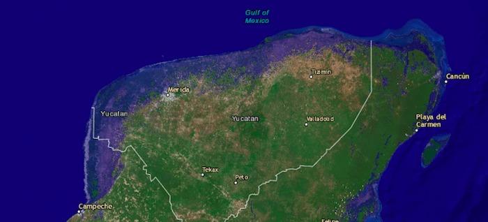 México niveles del mar