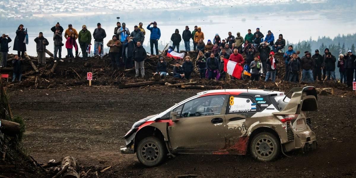 Los fanáticos respondieron al llamado de seguridad pese al gran susto que se llevaron en el WRC