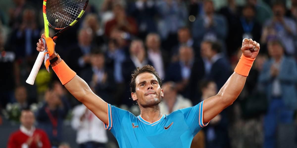 Nadal aplasta a Wawrinka y avanza a semifinales en Madrid