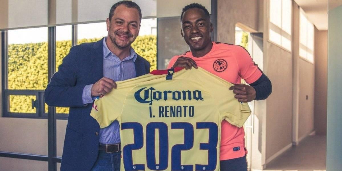 Renato Ibarra renueva con América hasta 2023