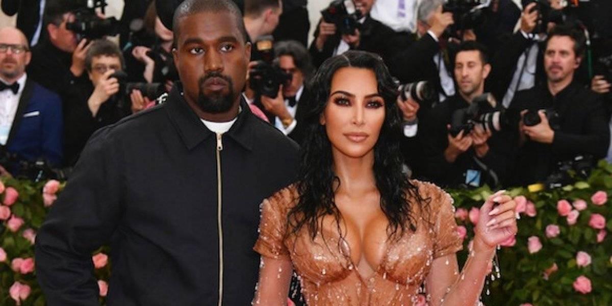 Kim Kardashian anuncia nacimiento de su cuarto hijo con Kanye West