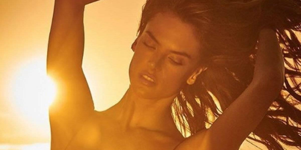 Alessandra Ambrosio comparte vista espectacular junto a su trasero