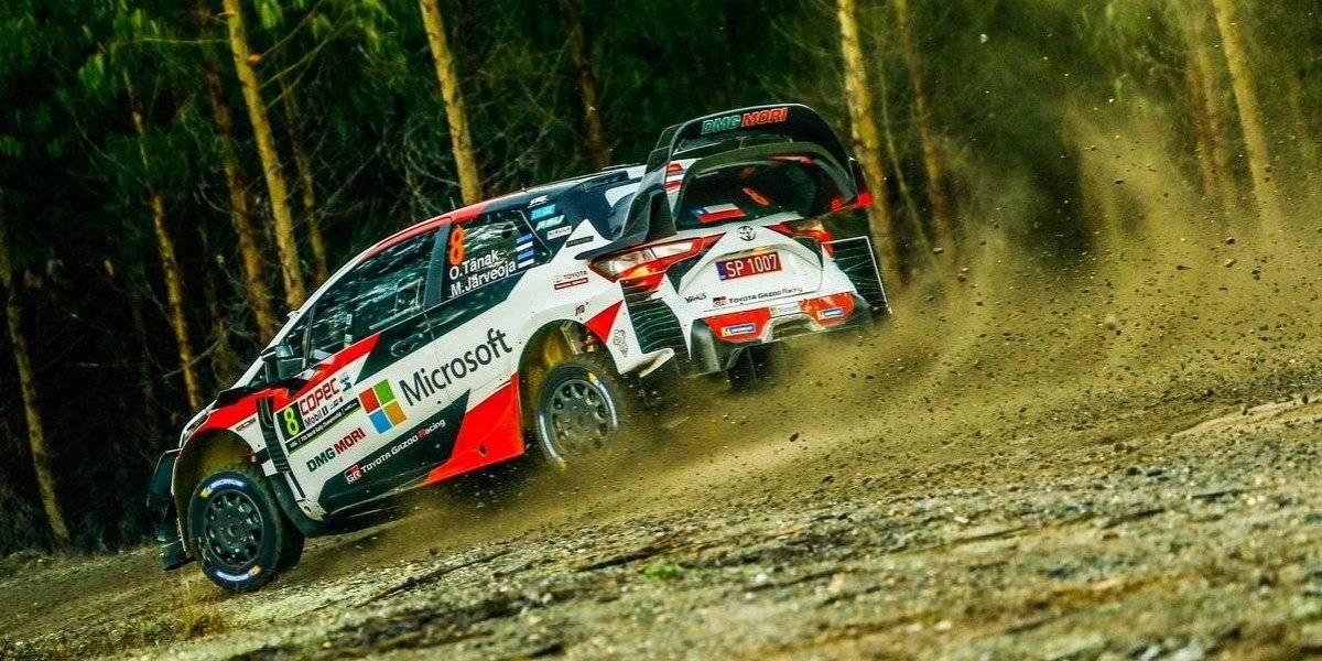 Ott Tänak dio la sorpresa en Concepción y se quedó con la primera jornada del WRC en Chile