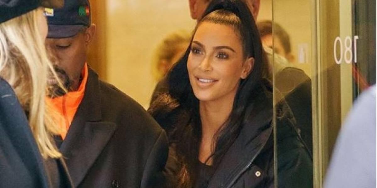 Kim Kardashian anunció el nacimiento de su cuarto hijo con Kanye West